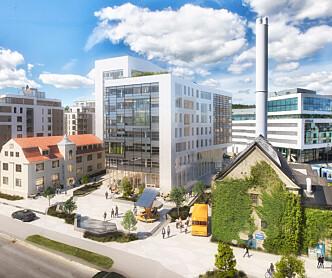 Rambøll i Oslo på plass i Harbitz torg