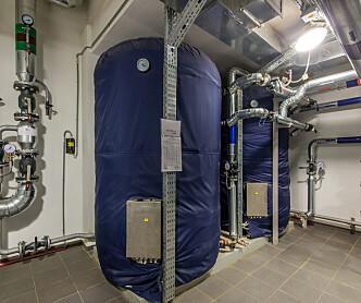 Sykehjem trenger mindre varmtvann