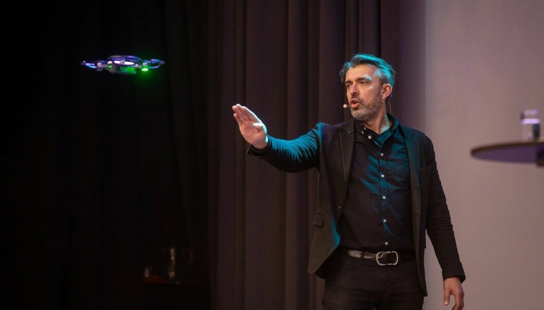 TIL DRIFTSKONFERANSEN: Eirik Norman Hansen er ekspert på digitalisering med erfaring i å forbedre kundeopplevelsen og digitalisering.