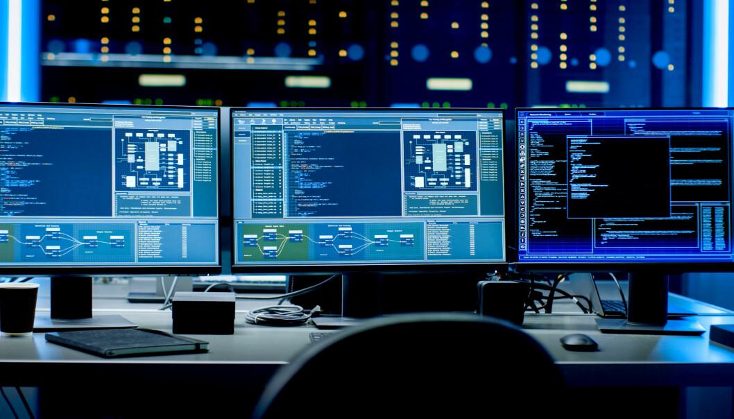 SD IKKE FREMTIDEN: – Tidligere var det bygningsautomatikk, type SD-anlegget. Det er ikke fremtidens toppsystem, mener Mallings teknologisjef Robert Skramstad.