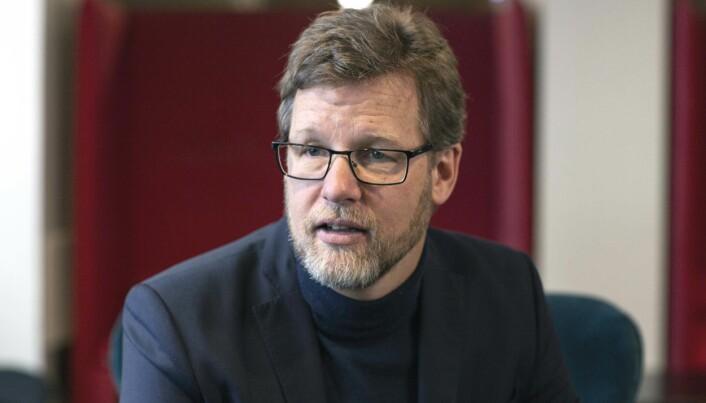 ÅPENBARE: Mye handler om det helt åpenbare – arbeidstøy, brakker og rekruttering – mener Veidekke-sjef Jimmy Bengtsson.