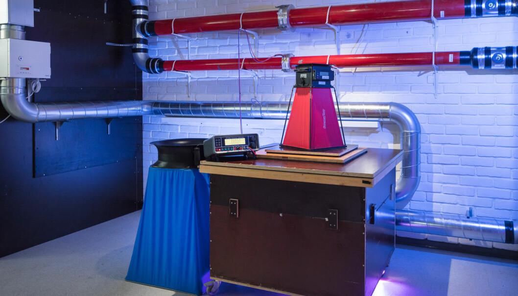 På ventilasjonslaboratoriet hos SINTEF har man muligheten til å teste Swema flow og en rekke andre typer måleutstyr og instrumenter.
