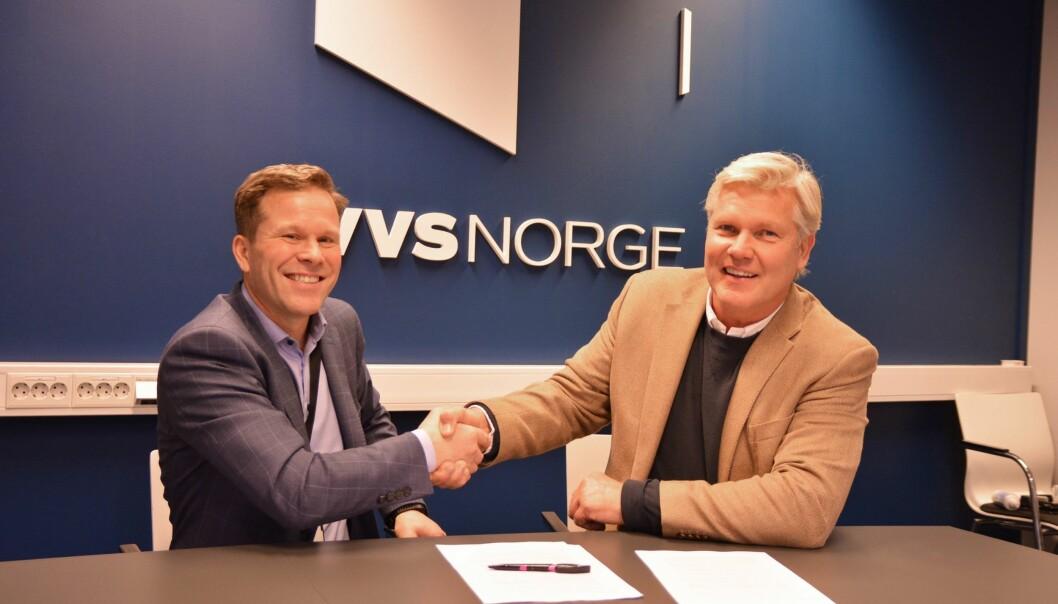 Vidar Skoglund og Ketil Jørgensen.