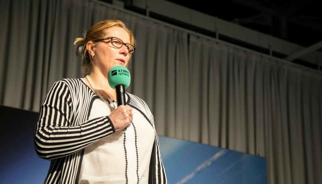 TEMPO: EU-klimabyråkrat Bente Tranholm-Schwarz oppfordrer bransjen til å finne bedre klimaløsninger raskt og ikke vente på at det kommer nye regler.