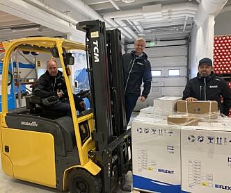 • Flexit etablerer nytt lager, showrom og kontor i Bergen