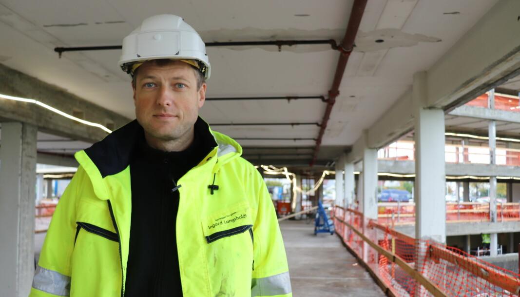 Claus Sandtangen, daglig leder og prosjektleder i Ingard Langsholdt AS.