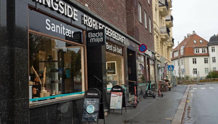 Sykkelveier kan stenge Bademiljø-butikk