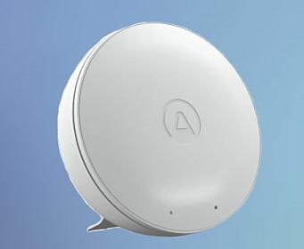 Alle deltagere får sendt en sensor (Airthings Wave Mini) til odel og eie.