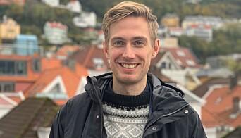 POSITIV: Klima og miljørådgiver i etat for utbygging hos Bergen kommune, Henrik Ravndal sier at regnestykket ved å gjøre byggeplassene utslippsfrie ser positivt ut, også økonomisk.