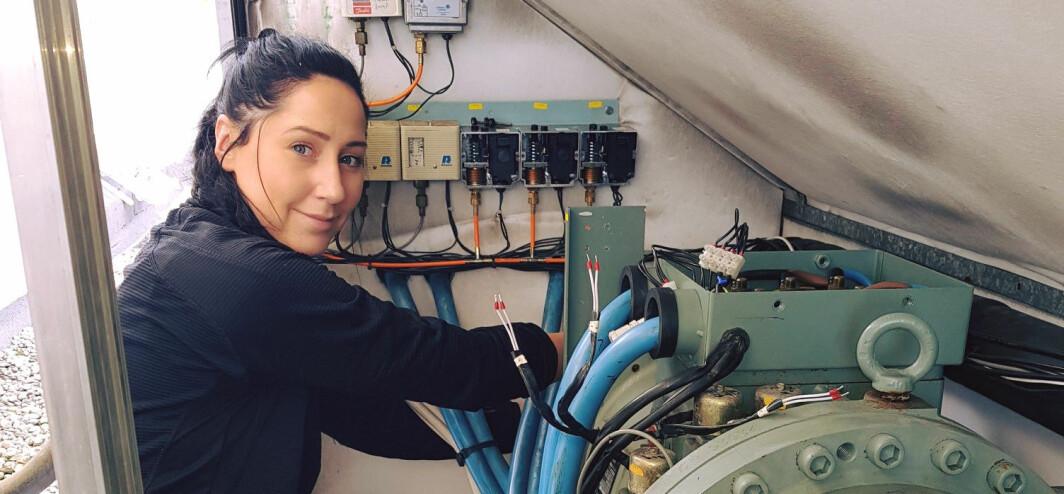 ATYPISK? Mari-Andrea Eggerud jobber i kuldebransjen.