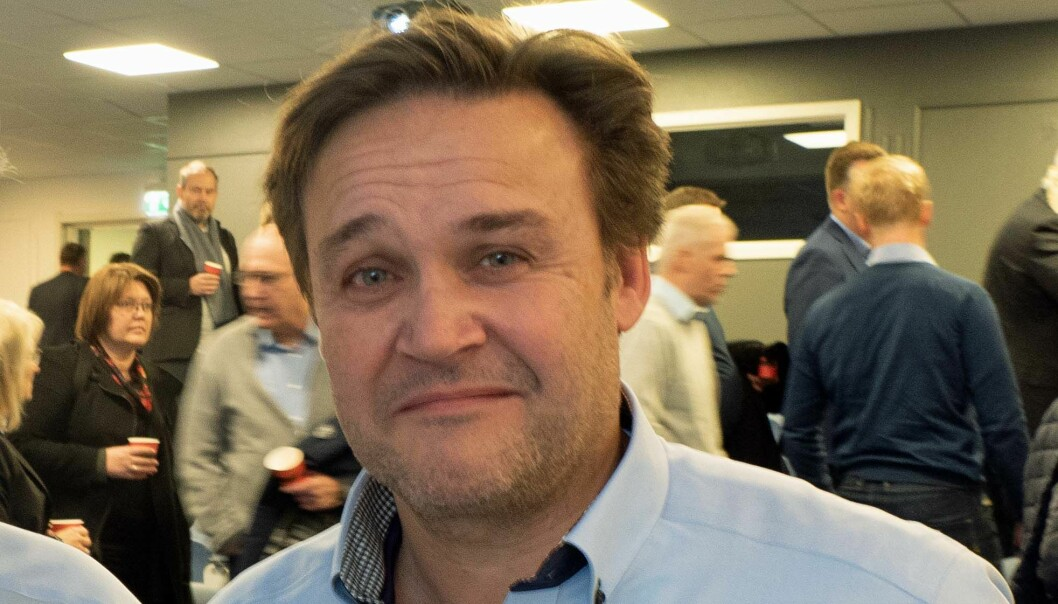 UENIG: Frank Olsen må gå fra toppjobben i Rørkjøp – men godtar ikke grunnlaget for oppsigelsen.