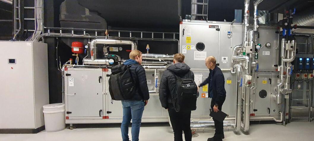 Snart kommer de første VVS-ingeniørene fra UiT