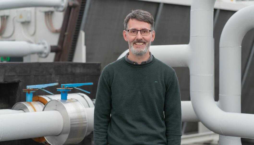 Instituttleder Tor Schive ved Institutt for automasjon og prosessteknologi ved UiT Norges arktiske universitet.