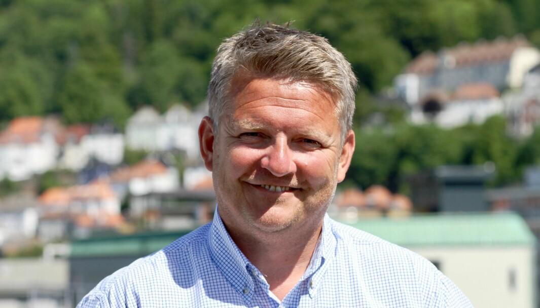 Morten Husa, daglig leder for Rørentreprenørene Norge – Vest.