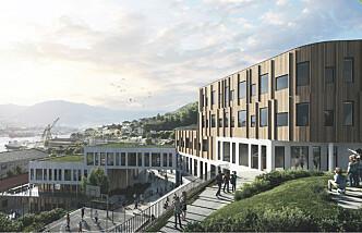 Et lærebokeksempel på hvordan fremtidens skolebygg kan bygges