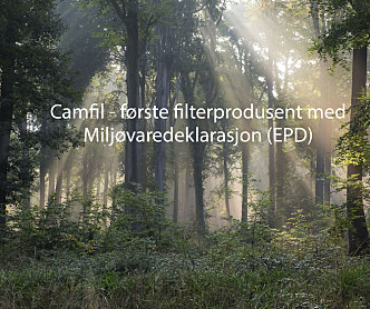 LCA og EPD: Camfil tar bærekraftarbeidet videre med livssyklusanalyser og miljøvaredeklarasjoner