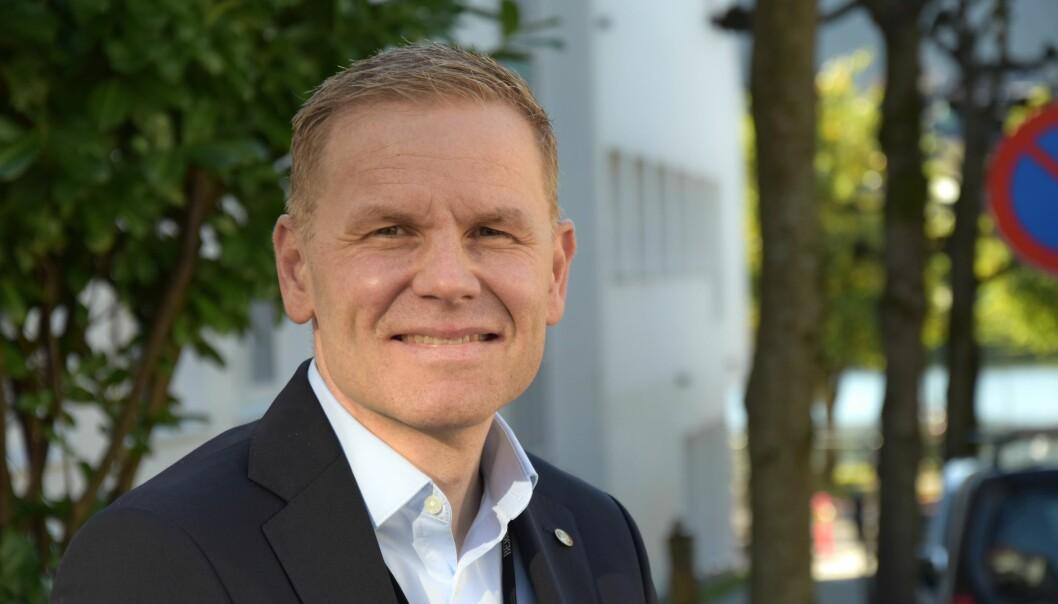 FORSINKET: Direktør ved Etat for bygg og eiendom i Bergen kommune, Christian Fossdal.