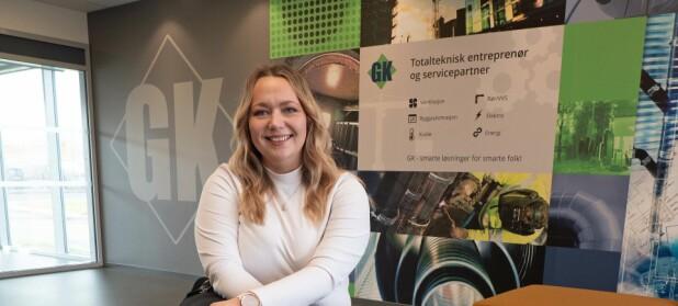 Møt Marianne (34) - frisøren som ble serviceleder i GK Inneklima