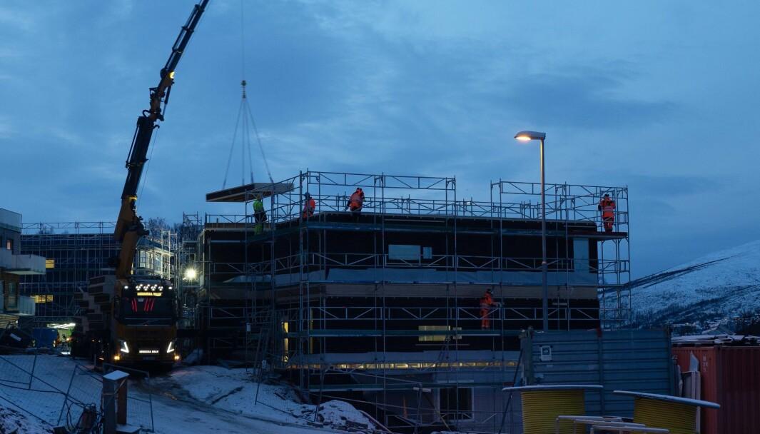 FRISKE: Alle ble testet, men det gikk greit å starte opp igjen med Blåtimen i Tromsø.