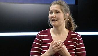BREDERE: Før handlet det bare om energieffektivitet. Nå tenkes det bredere, fortalte Anne Sofie Handal Bjelland fra Høgskulen på Vestlandet på Proptech Innovation-konferansen.
