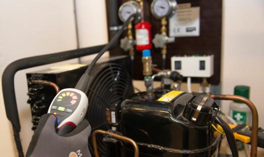 Rekord i refusjon av HFK-gass