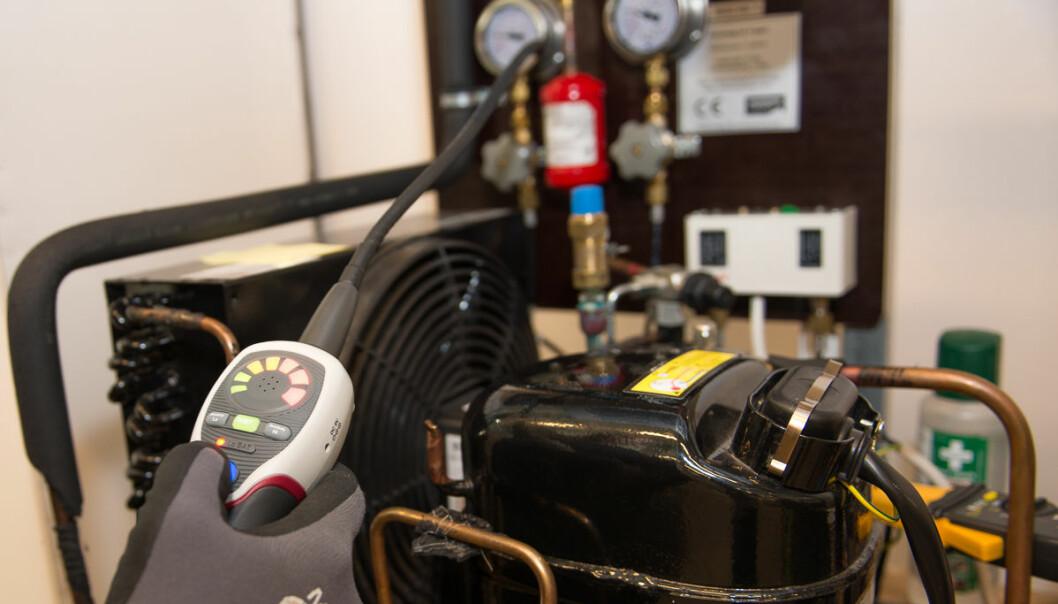 VERDIFULL: Det er mye penger å hente på å levere inn HFK-gass til destruksjon.