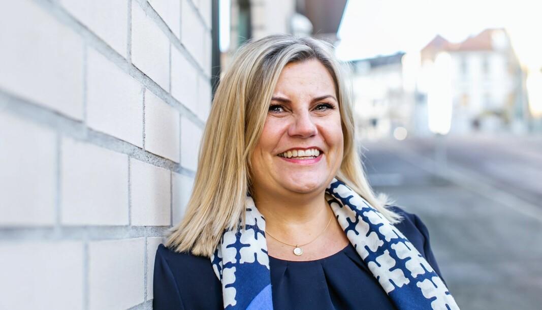 Lin Christin Standal Hjelle, konserndirektør for eiendomstjenester og rådgivning i BOB.