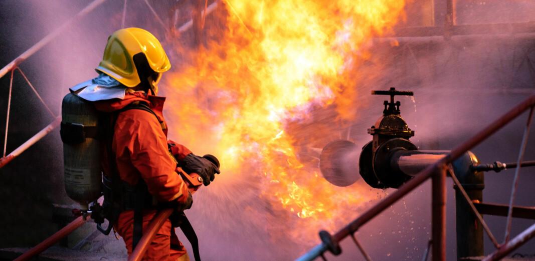 KAN UNNGÅS: Mer enn 60 prosent av de innrapporterte ulykkene internasjonalt skjedde under service og vedlikehold.