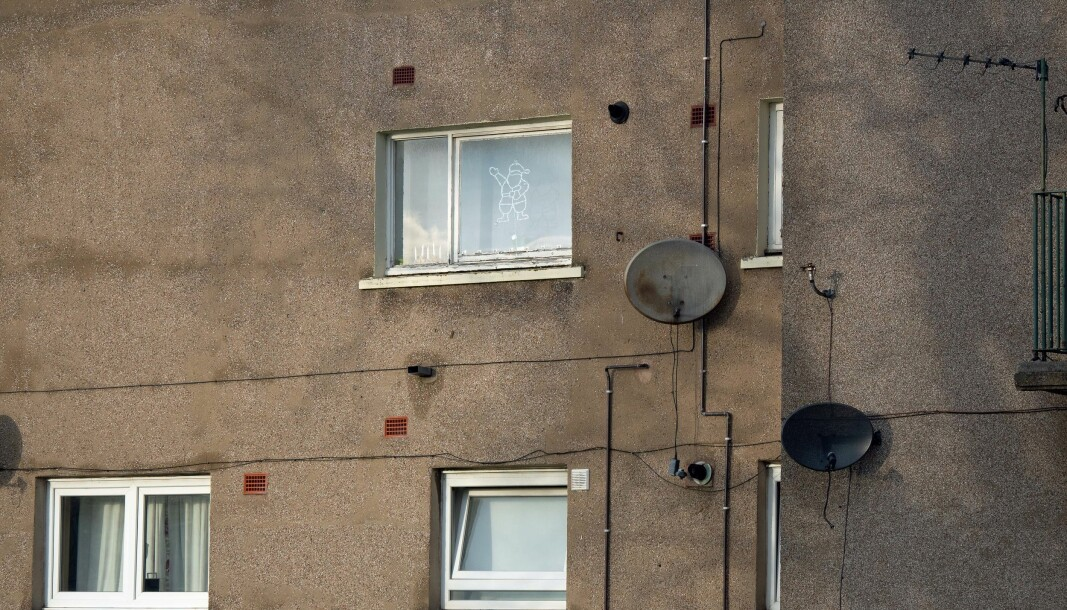 FØLGER OPP: På 50 000 sosialboliger i Edinburgh sparer nye sensorer 112 millioner kroner i vedlikehold hvert år.