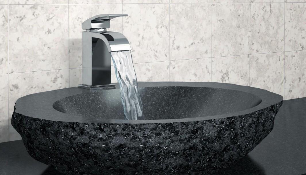 KLAGER IKKE: Kundene klager ikke på bollevasker, ifølge eiendomsmeglerforbundet og Korsbakken Bad.