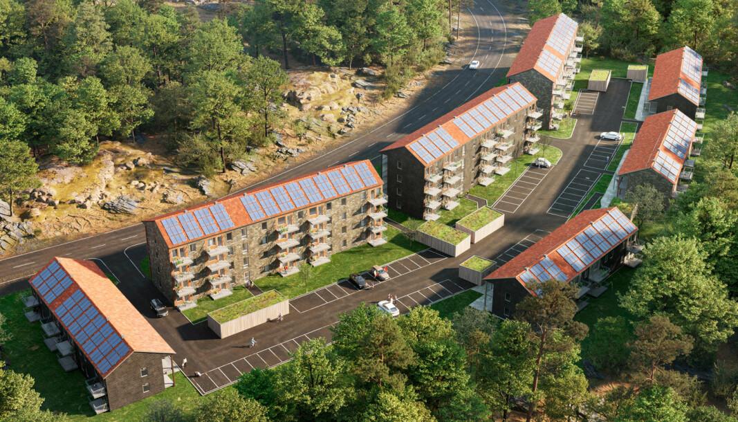 SCOP 5: Strøm og varme fra solen gjør bergvarmepumpene mye mer effektive – så effektive at Skanska bygger nullenergihus fordi det lønner seg, ikke fordi prosjektet kommer inn under en eller annen støtteordning.