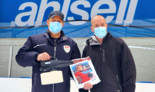 Ahlsell bidrar med smittevernsutstyr til landets ishaller