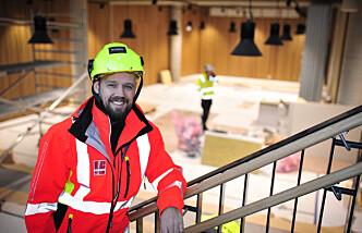 Norges første bygg med regnvannskjøling