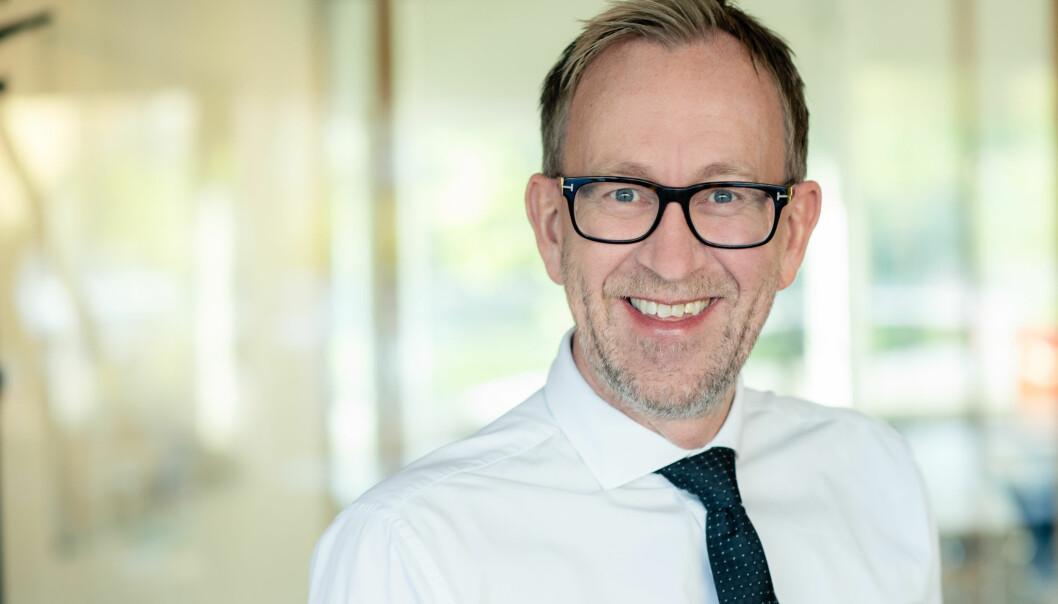 Kim Robert Lisø, konsernsjef i GK Gruppen.