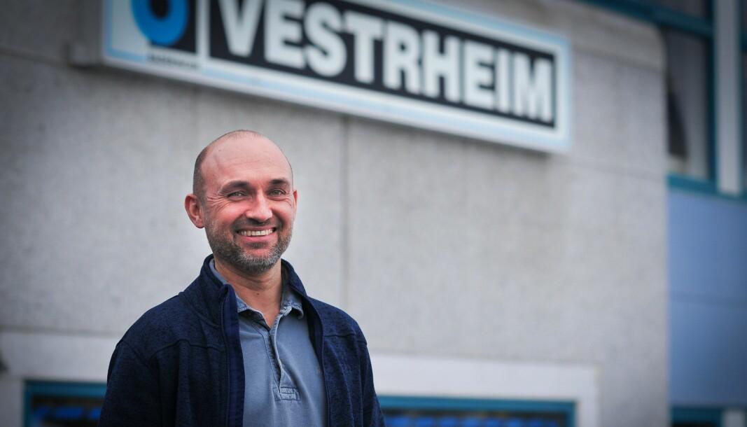 GODE RESULTATER: 2020 ble et minnerikt år for Chr. M. Vestrheim og daglig leder Thomas Jørs.