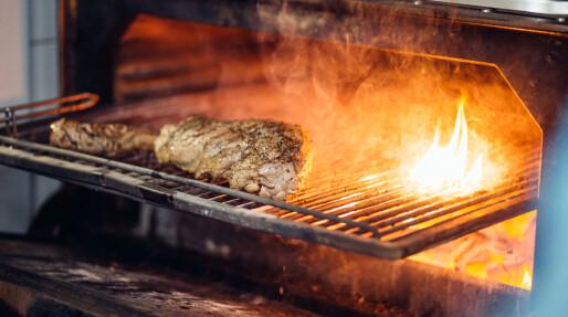 200 grader, gnister og fett