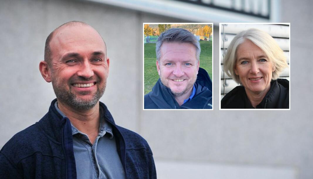 - Totalt sett hadde vi full virksomhet gjennom perioden, sier daglig leder i Chr. Vestrheim AS, Thomas Jørs. Innfelt: Morten Husa og Marianne W. Røiseland.