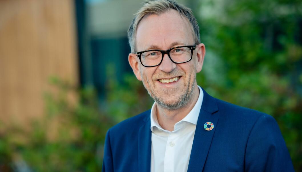 Kim Robert Lisø, konsernsjef i GK, er blitt medlem av Skift - næringslivets klimaledere