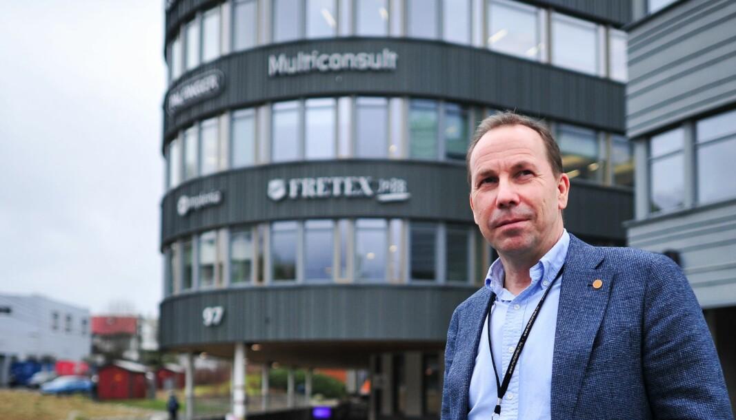 AVSTÅR: – I stedet for at vi skal tape disse pengene, så lar vi heller andre gjøre det, sier leder for VVS-avdelingen til Multiconsult i Bergen, Ole Døsvik.