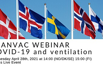 Webinar: Covid-19 og ventilasjon med Scanvac