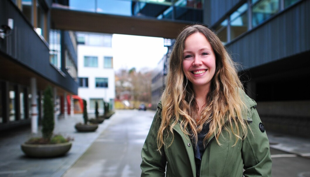 GLEDER SEG: Birthe Espeland Steinsøy (31) er nyvalgt leder av NemiTeks lokallag i Bergen. Hun gleder seg til å ta fatt i oppgavene og skape aktiviteter for lagets medlemmer.