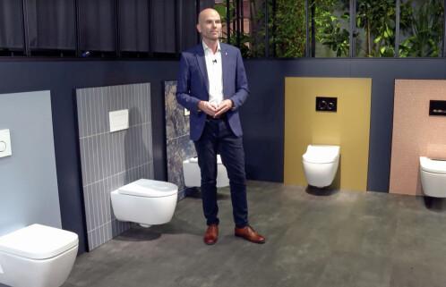 Mindre lyd og lukt fra toalettene