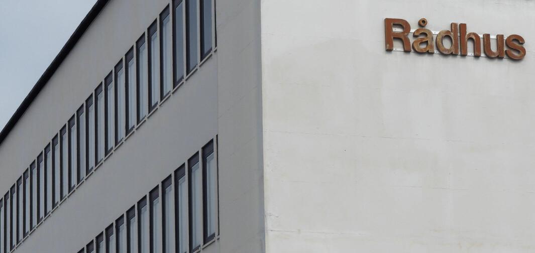 TUNGT: Det blir fremdeles tunge tak rundt på rådhusene. Hittil har ikke kommunepolitikerne vært i nærheten av å klare å holde eiendommene sine ved like
