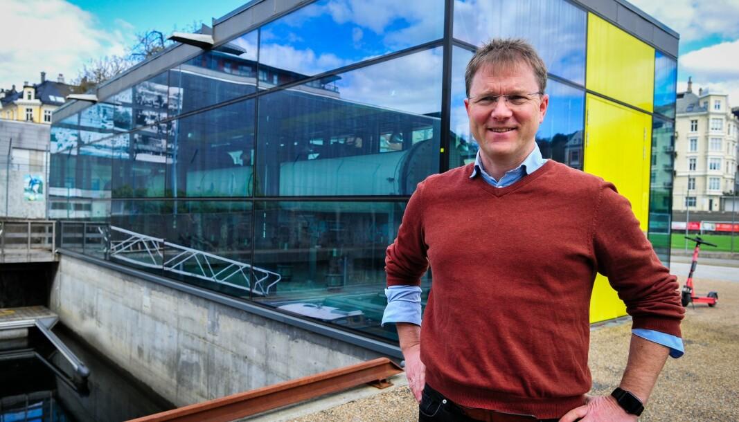 STORE BESPARELSER: Administrerende direktør i GC Rieber Eiendom, Tor Instanes har jobbet lenge for å få på plass sjøvannsanlegget.