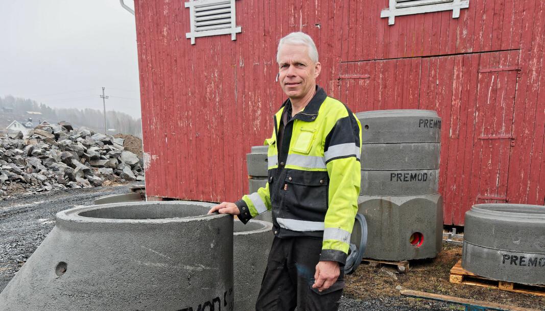 AVLØPSJOBB: Når han ikke har nok å gjøre i eget firma, tar Scenemontage-sjef Ulf Ekås et innhopp i det interkommunale vann- og avløpsselskapet Givas.