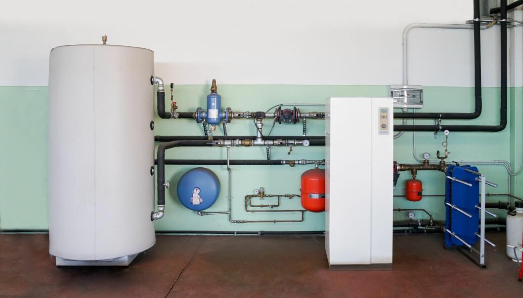 NØYTRALT: Bestemmelsene om energifleksible varmesystemer er de samme uansett hvilken varmekilde som brukes. (Illustrasjonsfoto – løsningen på bildet er tilfeldig valgt)