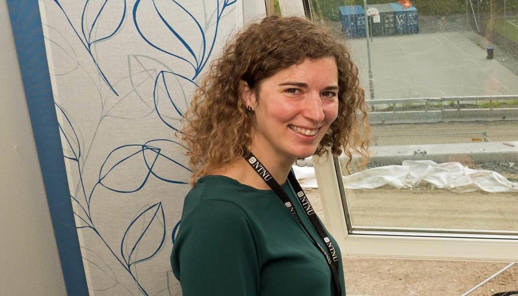 VENTILASJON: Mer luft eller åpne vinduer, er rådet fra Maria Justo Alonso til de mange som sitter på hjemmekontoret