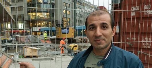 Bilal (40) jakter lærekontrakt