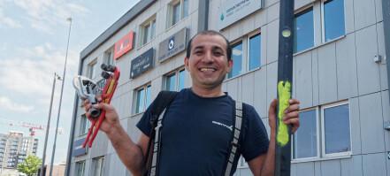 Etterlyste læreplass i Rørfag – nå har Bilal svennebrev