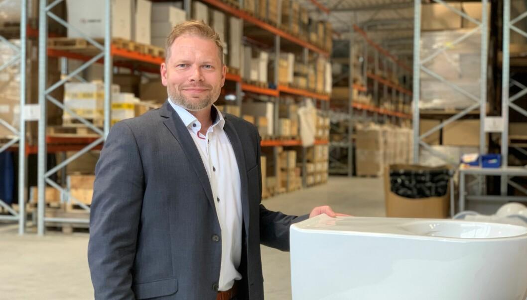 PARTNER OPP: Bano-sjef, Frode Lindvik, har fått et nederlands oppjøpsselskap med på laget og retter nå blikket mot Europa.